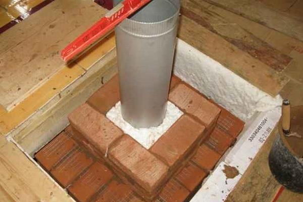 montowanie stalowych systemów kominowych